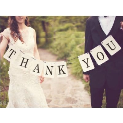 Thank You Sign | Wedding