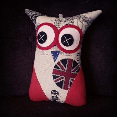 Vintage London | 26cm Owl