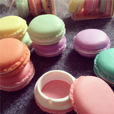 Macaroon Storage Trinket Box