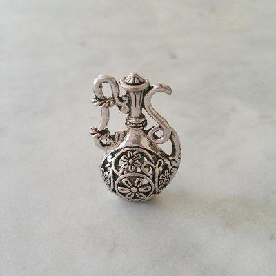 Silver Jug Pendant