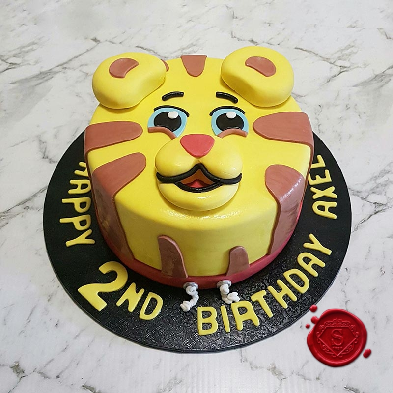 Magnificent Daniel Tiger Cake Sweet House Studios Gold Coast Personalised Birthday Cards Paralily Jamesorg