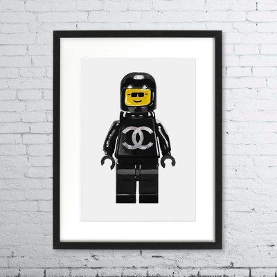 Lego Man Print – Chanel