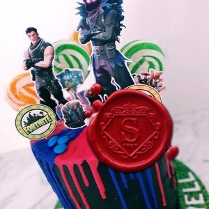 Fortnite Cake Toppers | Sweet House Studios