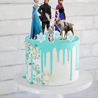 Frozen Cake Toppers | Sweet House Studios