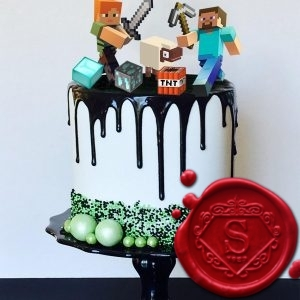 Minecraft Cake Toppers | Sweet House Studios