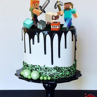 Mindcraft Cake Toppers | Sweet House Studios